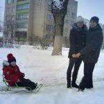 Головкин Даник с родителями, 2 младшая группа №2