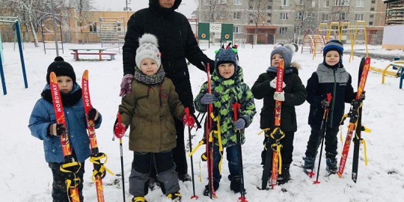 Осваиваем зимние виды спорта
